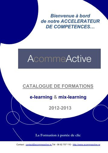 Catalogue 2012 (PDF) - AcommeActive
