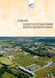coburg dienstleistungspark bertelsdorfer höhe - Stadt Coburg