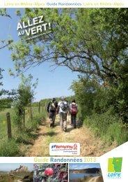 calendrier 2013 des randonnées pédestres de la Loire