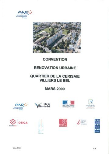 Convention Villiers-le-Bel La Cerisaie - PDF - Anru