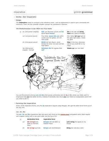 vimp_01: imperative [pdf] - COERLL
