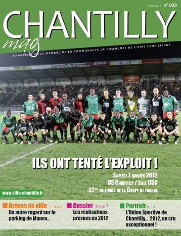 ILS ont tenté L'exPLoIt ! - Ville de Chantilly