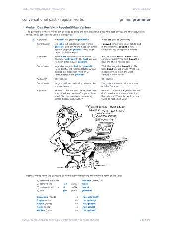 vcp_02: conversational past - regular verbs [pdf] - COERLL
