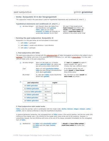 vsub_03: past subjunctive
