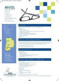Monteur Vendeur en Optique Lunetterie - Cos