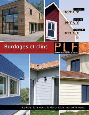 Catalogue bardages (5 Mo, format pdf) - PLF