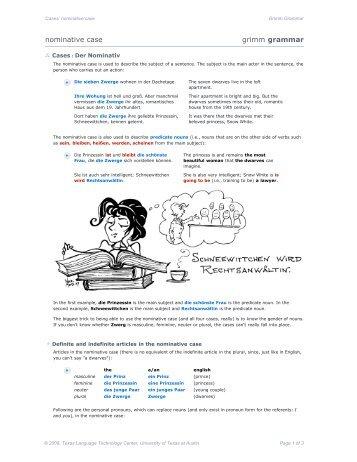 cas_02: nominative case [pdf] - COERLL