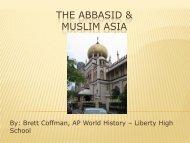 The Abbasid & Muslim Asia