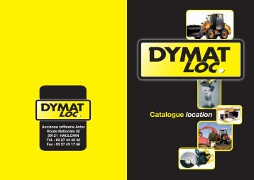 DYMATLOC Location Catalogue 2012 - 2013