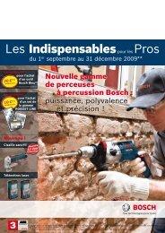 Les Indispensablespour les Pros - Bosch