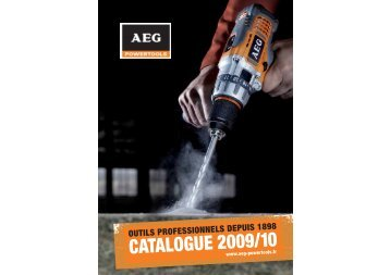 CATALOGUE 2009/10 - AEG Powertools