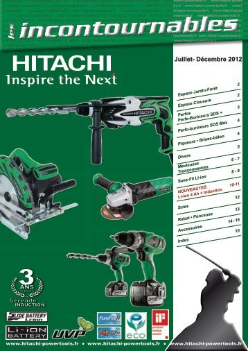 Juillet- Décembre 2012 - Hitachi Power Tools