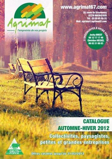 CATALOGUE AUTOMNE-HIVER 2012