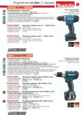 Makita - Commerce de Fer SA - Page 7
