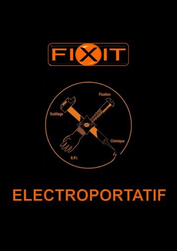 electroportatif - fixit