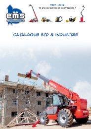 CATALOGUE BTP & INDUSTRIE - EMS - Location de matériel