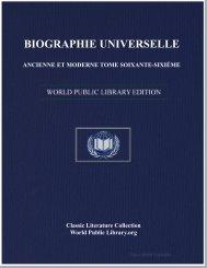 biographie universelle ancienne et moderne tome soixante-sixiéme