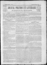 JOURNAL POLITIQUE ET LITT[IIAIII - Bibliothèque de Toulouse