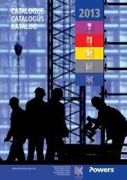 2013 catalogue catalogus katalog - Powers