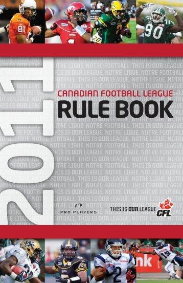 CFL_Rule_Book_2011