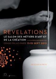 Pré-dossier de presse> Voir le pdf - Ateliers Bernard Pictet