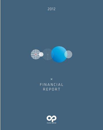 2012 fINANcIAL repOrT - Info-financiere.fr