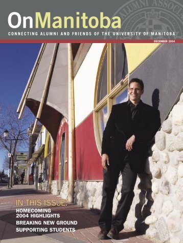 In this issue - University of Manitoba