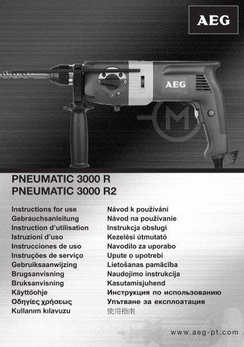 PNEUMATIC 3000 R PNEUMATIC 3000 R2