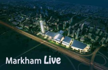 1 4 7 10 11 12 2 5 8 3 6 9 - Town of Markham