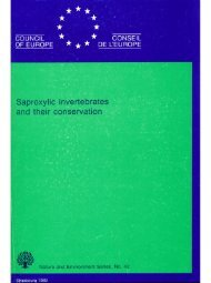 Speight, M.C.D. 1989. Saproxylic invertebrates and their ...