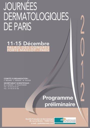 Mercredi 12 décembre - JDP 2012
