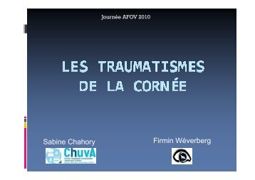 Les traumatismes de la cornée réduit-AFOV-20-11-10 [Mode de ...