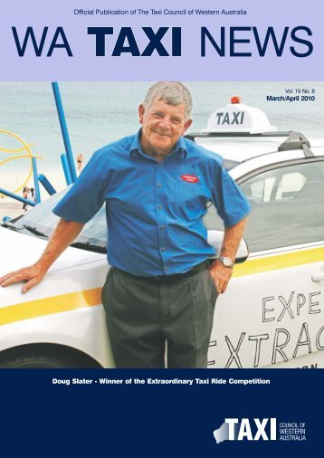 WA Taxi News March April.cdr - Taxi Council of Western Australia