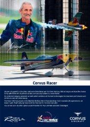 Corvus Racer - Corvus Aero Australia