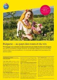 Bulgarie – au pays des roses et du vin - Kira Travel