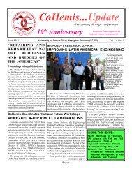 June 2001 - CoHemis - UPRM