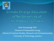 Climate Change Education at the University of ... - CoHemis