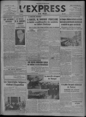 A ROUEN, M. DORMOY PROCLAME Les Souverains bulgares ...