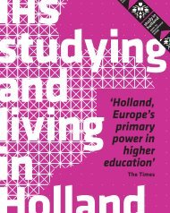 'Holland, Europe's primary power in higher education' - IHS