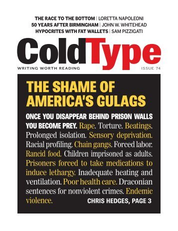The shame of america's gulags - ColdType