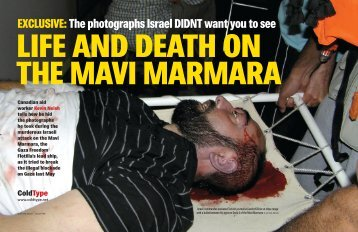 EXCLUSIVE:The photographs Israel DIDNT want you to ... - ColdType