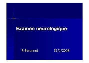 Examen neurologique et langage - Réseau Santé Langage