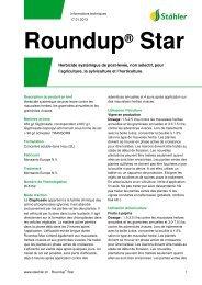Roundup® Star - Stähler SA