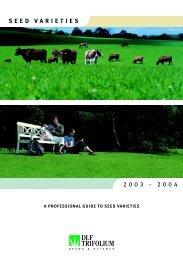 seed varieties - DLF-TRIFOLIUM Group