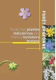 Guide des plantes indicatrices des milieux forestiers bretons