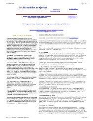 Nichoirs ideals pour hirondelles bicolores - CHOC Nature