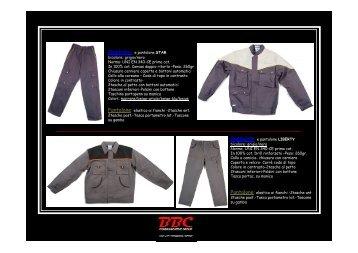 Giubbotto e pantalone LIBERTY bicolore: grigio/nero Norma: UNI ...