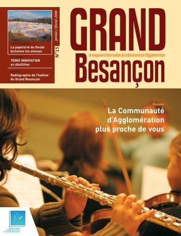 N°15 - La Communauté d'Agglomération plus proche - Besançon