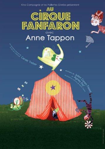 Télécharger le dossier de presse - Anne Tappon