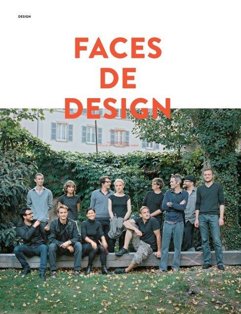 """Article """"faces de design"""" - Le Quai"""